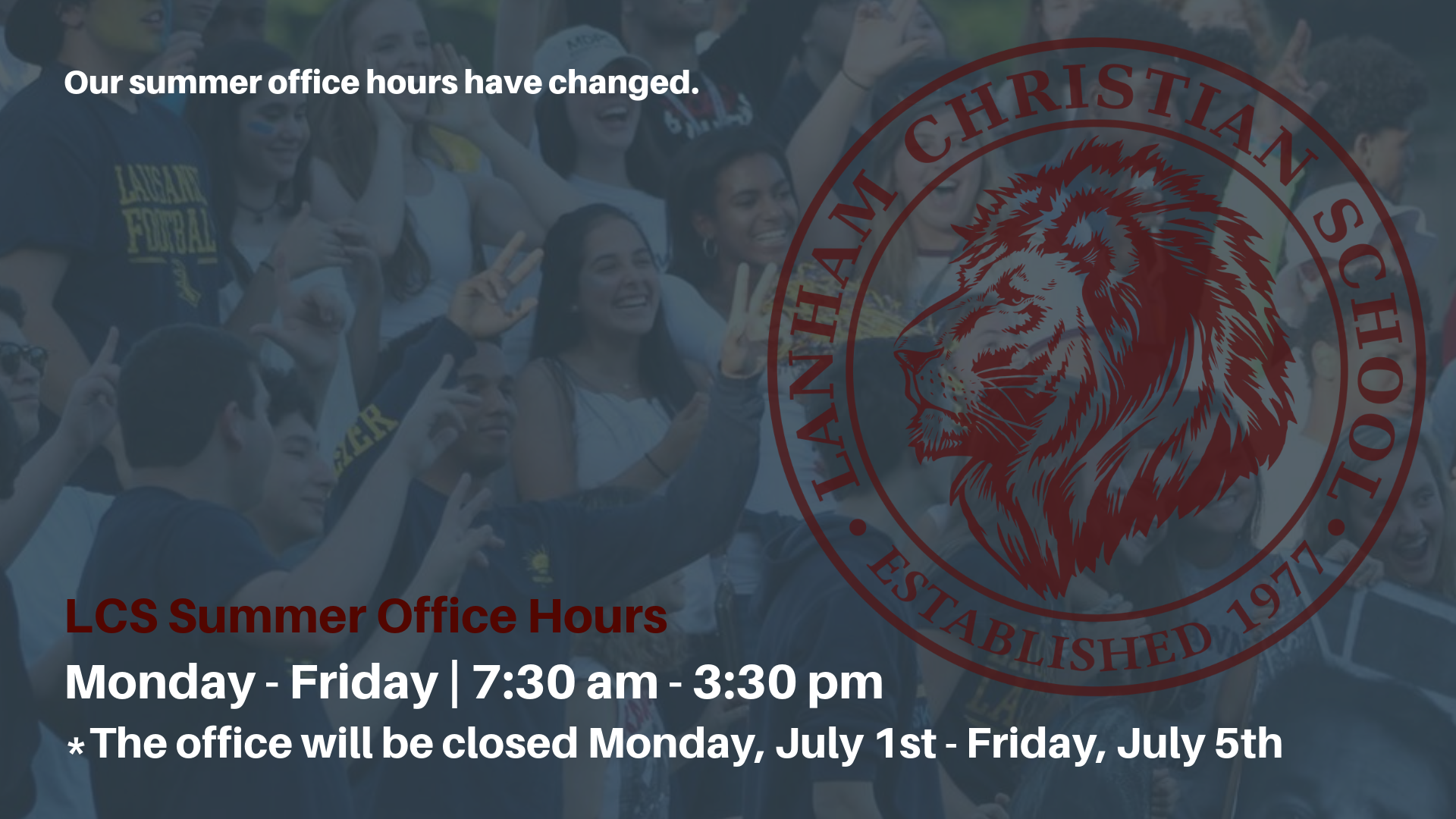 Summer Office Hours 2019(1)